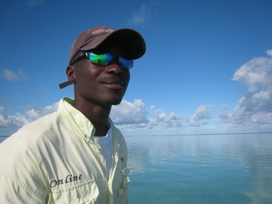 Turks and Caicos Bonefishing guide - Darin Bain DB Tours - photo by Marta Morton