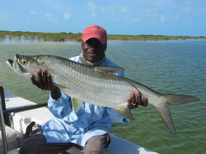 Go bonefishing with a guide in Turks and Caicos Islands with Darin Bain - Providenciales -