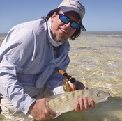 American Angler magazine article with Darin Bain bonefishing charter guide