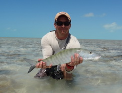 Bonefishing charters with D.B.Tours Providenciales Turks and Caicos Islands