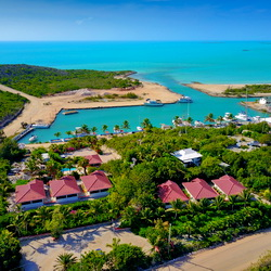 Harbour Club villas and Marina bonefishing villa accommodation on Providenciales Turks and Caicos Islands